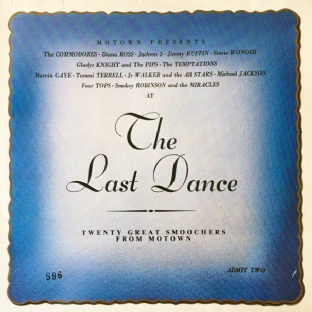 V/A - Motown Presents: The Last Dance (LP) (G/G++)